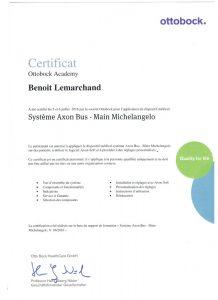 certifications michelangelo benoit lemarchand